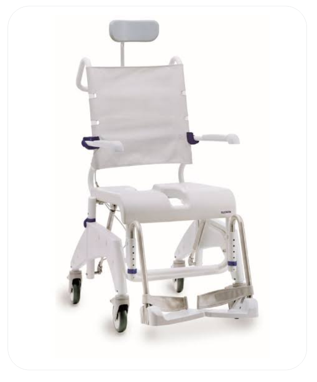 Aquatec Ocean VIP Shower Commode Chair (B.A. 9)