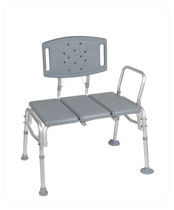 Heavy Duty Bariatric Transfer Shower Bench (B.A. 3)