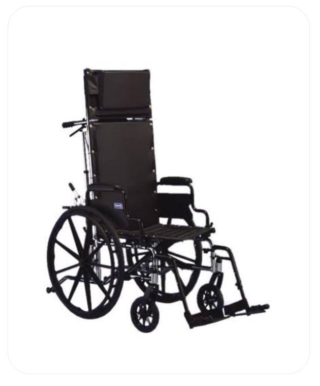 Manual Reclining Wheelchair (MW 4)