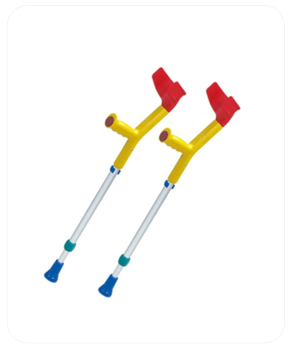 Rebotec Children's Crutches Set  (PWE 1)