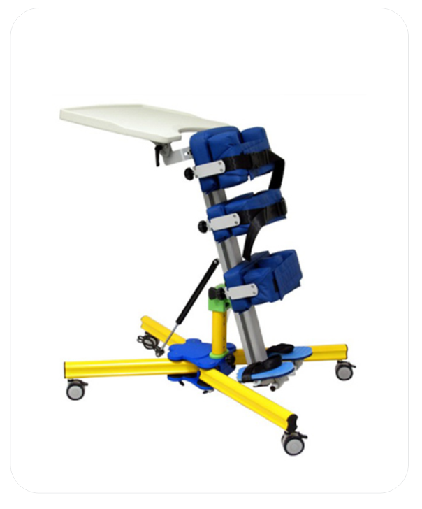Pediatric Stand-Up Frame With Tray  (PWE 2)