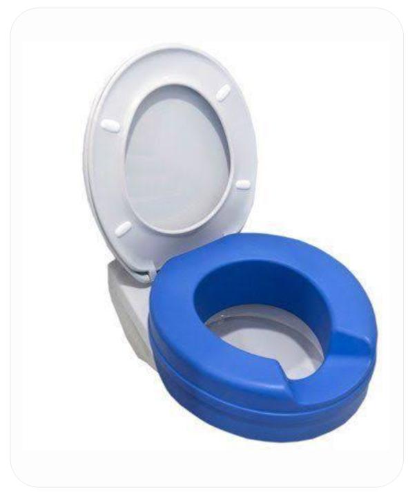 Soft Toilet Seat Riser (B.A. 27)