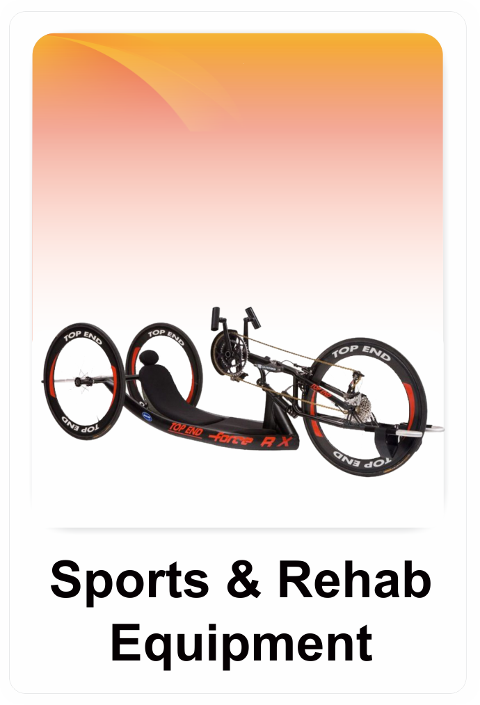 Sports & Rehab Equipment