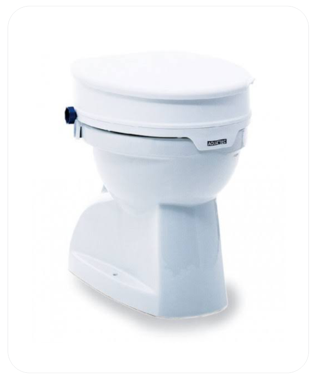 Bariatric Raised Toilet Seat (B.A. 24)